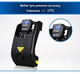 Wholesale 2016 Car Air Pump Compresor Michelin ml Car Inflator Air Compressor Pump Mini Charge for Truck Automotive with Digital Led Pedal Type