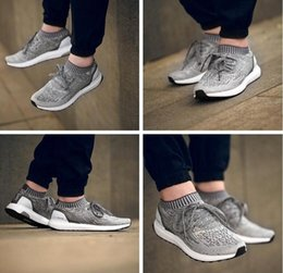 Wholesale 2016 New Style Ultra Boost Shoes Ultra Boost UNCAGED Men Running Shoes Brand Sports Shoes Low Top New Design Athletic Shoes