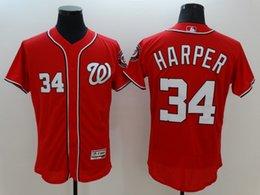 Wholesale Washington Nationals Jersey Bryce Harper Jersey Cheap Baseball Flexbasell Player Jerseys Mix order