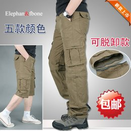 Wholesale summer thin funds multi purpose outdoor casual pants detachably into two parts quick drying men s Cargo pants