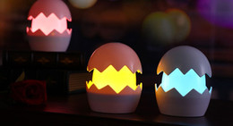 Wholesale yolk night light LED Night Light DIY creative gifts USB battery powered NEW Lamp shade material ABS PC