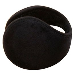 Wholesale Hot Sale Fashion Style Unisex Black Earmuff Winter Ear Muff Wrap Band Warmer Grip Earlap Gift GIJ