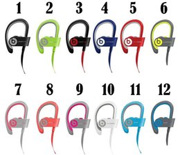 Wholesale 2016 Used Beats powerbeats wireless Active collection headphone Bluetooth Headset Sport earphone with retail box beats by dre