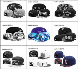 Wholesale HOT New CAYLER SON Hats Snapback Caps baseball Cap for men women Cayler and Sons snapbacks Sports Fashion Caps brand hip hip brand hat