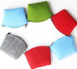 12pcs lot fashion felt 4 colours jewelry bag drop shippi Can be customized