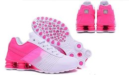 Wholesale 2016 new arrive fashion shox deliver running shoes for women good quality female outdoor footwear size