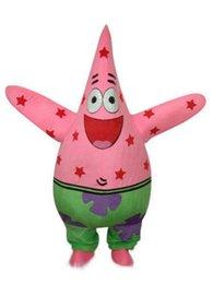 Wholesale Spongebob Squarepants Mascot Costumes - Patrick Starfish of Spongebob Squarepants Cartoon Mascot Costume Suit
