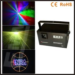 Efectos de modulación en venta-2W 2 vatios RGB a todo color máquina de Animación Modulación TTL efectos de luz láser / luz láser / controlador de luz DJ