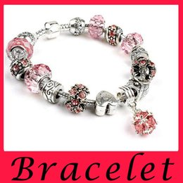 Wholesale 2016 new crystal bracelet months of the birth of S Alex and Arni charm bracelet bracelet extension Charm Bracelet metal beads Bracelet