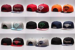 Wholesale Hot Five Panel Diamond Snapback Caps Hip Hop Hat Cap Bone Baseball Caps Flat Hats Casquette Gorras Planas Bone Aba Reta Toca Adjustable