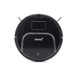 Wholesale New Design Eworld M883 Ultrason Electric Floor Cleaner Multifunction Robot Vacuum Cleaner Automatic Auto Robotic Vacuums Sweeper