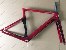 Wholesale Newest Red Aeroad SLX Road Bicycle Frame Carbon Frame Size XXS XS S M L available color for choice