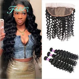 Silk Base Full Frontal Lace Closure 13*4 With Bundles 8A Indian Hair With Ear to Ear Silk Top Lace Frontal 4Pcs Lot