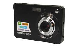 1pcs Digital camera 2.7 inch TFT LCD 16.0 mega pixels 4X digital zoom Anti-shake Video Camcorder photo camera Free send
