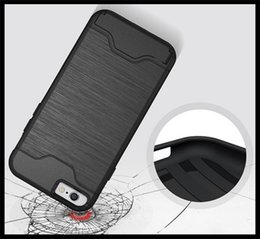 Wholesale New Launching Handphone Case Cell Phone Bracket Back Cover for iPhone card packet back cover case top seller