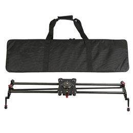 Wholesale GP Q cm Carbon Fiber DSLR Camera Track Slider Portable Video Stabilizer With quot quot Standard Screw US STOCK D3540