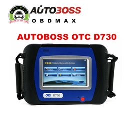 Wholesale New Arrival SPX AUTOBOSS OTC D730 Automotive Diagnostic Systems for ASIAN AUSTRAlIAN EUROPEAN AMERICAN VEHIClES Built In Printer