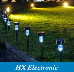 Wholesale LED Solar Lights Solar Lawn Light Plastic Garden Outdoor Sun Light Corridor Lamp Outdoor Garden Party Lamp Solar Powered Colored Solar Lamps