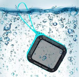 Wholesale W KING S7 in Portable NFC Wireless Waterproof Bluetooth Speaker With Hours Playtime For Outdoor Shower With Retail Box