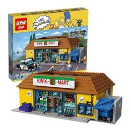Wholesale Pre sale Lepin The Simpsons Bart Homer Minifigure Action Figures Model Building Block Bricks Compatible With LegoE