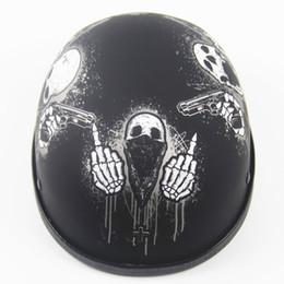 Cascos de moto de época en venta-Moto retro de la motocicleta del moto de la motocicleta de la vendimia de la personalidad del motor de la cara abierta del envío 2016 DOT aprobó el Vespa retro de la moto del moto