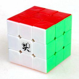 2017 dayan juguete Dayan Zhanchi V5 57mm tres capas 3x3x3 velocidad cubo mágico juego de rompecabezas cubos juguetes educativos para niños niños dayan juguete promoción