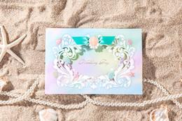 Wholesale Wedding invitations cards Personalized Wedding Cards Invitations Unique Wedding Invitations Beach Wedding Theme wedding card invitations