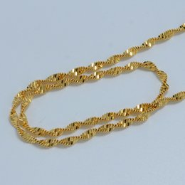 60cm Ethiopian gold chain necklaces women 18k gold plated chain woman,fashion gold jewelry wholesale necklace africa