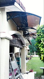 Wholesale DS120360 P x360cm Depth cm Width cm New Collection Simple To Install Home Use Polycarbonate Door Canopy