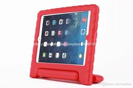 Wholesale For kids adult Shock proof EVA Foam case innoxious material handbag design standable for ipad mini air Samsung tab4