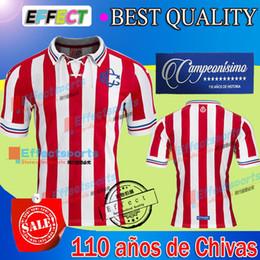 Wholesale 2017 Guadalajara de aniversario que conmemora años de Chivas Soccer Jersey A PULIDO O PINEDA UNAM PUMAS Maillot de foot shirts