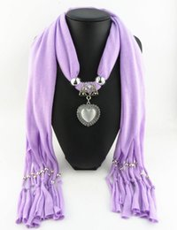 Newest Cheap Fashion Women Valentine's Day Scarf Direct Factory Jewelry Tassels Scarves Women Opal Heart Scarves Shawl
