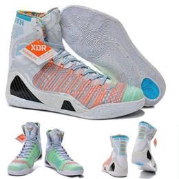 Wholesale With shoes Box Kobe IX Bryant Elite High Premium WTK What The Men KB Boots Shoes