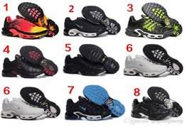 Wholesale New Running Shoes Men TN Shoes Sell Like Hot Cakes Fashion Increased Ventilation Casual Shoes Sneakers Shoes