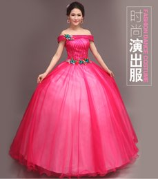 hot pink red blue slash sequin ball gown medieval dress princess Medieval Renaissance Gown queen cosplay Victoria Belle gown