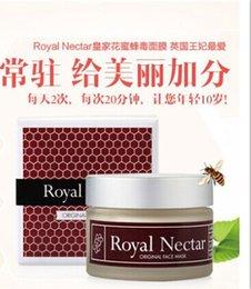 Wholesale Wholesales New Zealand Royal Nectar Manuka Honey Anti Wrinkle Bee Venom face mask ml moisturizing oil control whitening