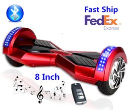 Wholesale 8 Inch Self Balancing Scooter Smart Balance Wheel Smart Balance Wheels Hot Selling Bluetooth Factory Price For Sales No Tax
