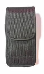 Clips de bolsas en venta-Para Samsung para el caso del iPhone LG ZTE Alcatel alta calidad elegante universal del bolso del teléfono carpeta de la bolsa plegable en folio de color Cinturón Negro Clip Hierro
