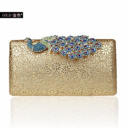 Mini peacock Diamond Fashion banquet dinner bag bag bag cheongsam dress bag bride hand bags handbags