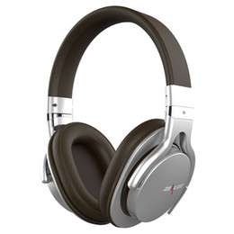 Wholesale Bluetooth Headphones HiFi Wireless Headset Stereo Sound Audiophile Over Ear Headset with Noise Reduction with Soft leather Like Feather