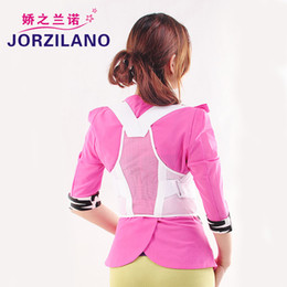 Free shipping Women Adjustable Therapy Back Support Braces Belt