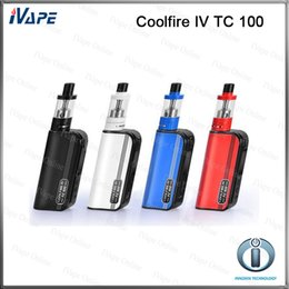 Wholesale 100 Original Innokin Coolfire IV TC Kit ml iSub V Tank With Cool Fire IV TC100 W Mod Battery mah Aethon Chipset