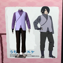Popular Japanese Anime COS Anime Boruto: the Movie Sasuke Uchiha Cosplay Costume Unisex Clothing Outfit Custom Made Uniforme Any Size