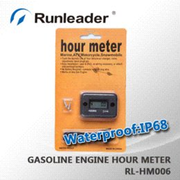 Wholesale Racing engine waterproof hour meter for truck tractor golf cart motocross atv motorcycle jet ski jet boat snowmobile pit bike MX