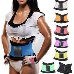 Wholesale Hot Shapers for Women Slimming Body Shaper Waist Belt Girdles Firm Control Waist Trainer Plus Size Shapwear Colors S XL