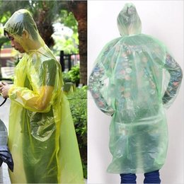 Wholesale New Arrival Riding Outdoor Tourism Travel Essential New Environmental Protection Material Unisex Disposable Raincoat Poncho