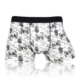 Wholesale-hot sale mens underwear boxers gay cotton solid Shorts homme  Male panties wolf Brand Underpants cueca sexy