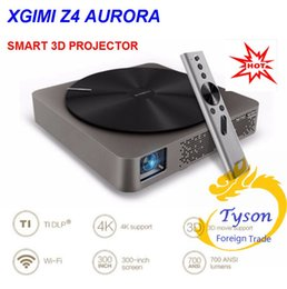 Wholesale 2016 XGIMI Z4 Aurora Smart home theatre WIFI Android projectors Full HD LED K DLP support P D TV cinema for maltimedia