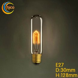Wholesale LED light bulb Vintage Squirrel W E27 Incandescent Edison Light Bulb fireworks carbon filament antique lamp lights bulbs free ship