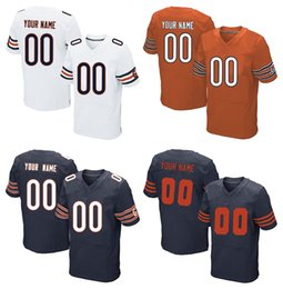 Wholesale 2016 Men s Bears Custom Elite Football Jerseys Personlized Home and Away Good Quality Stitched Jerseys Prices